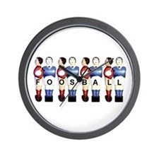Wall Clock - Foosball MEN (Bonzini)