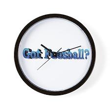 Wall Clock - Got Foosaball