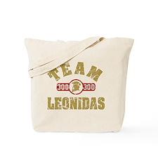 300 Team Leonidas Tote Bag