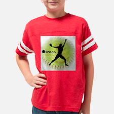 iPitch Fastpitch Softball (le Youth Football Shirt