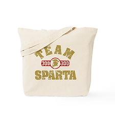 300 Team Sparta Tote Bag
