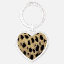 Cheetah Print Keychains