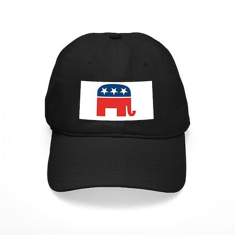 Republican Elephant Black Cap
