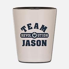 Revolution Team Jason Shot Glass