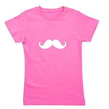 Mustache Ideology Girl's Tee