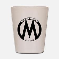 Monroe Militia M Revolution Shot Glass
