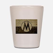 Monroe Republic Flag Revolution Shot Glass
