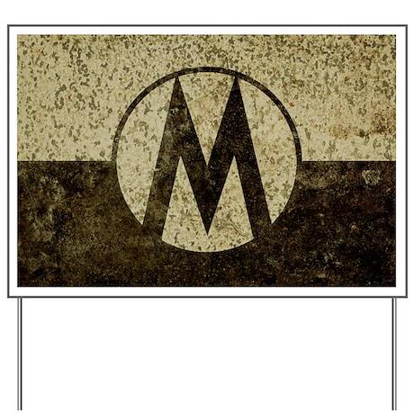 Monroe Republic Flag Revolution Yard Sign