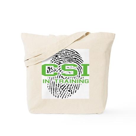 CSI In Training Tote Bag