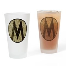 Monroe Republic Emblem Revolution Drinking Glass