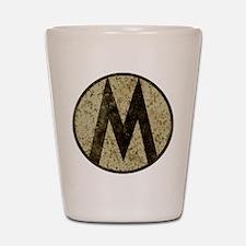Monroe Republic Emblem Revolution Shot Glass