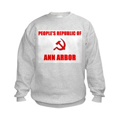People's Republic of Ann Arbo Sweatshirt