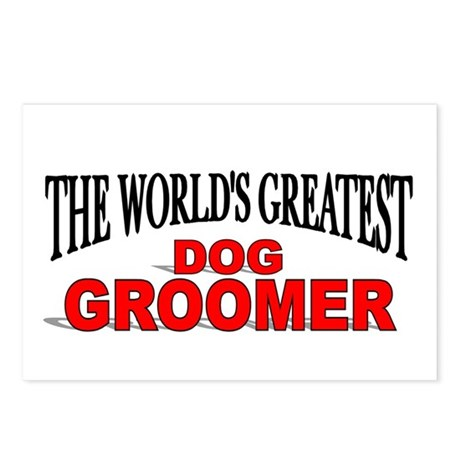 """The World's Greatest Dog Groomer"" Postcards (Pack"