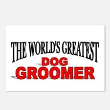 """""""The World's Greatest Dog Groomer"""" Postcards (Pack"""