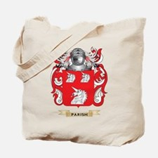 Parish Coat of Arms (Family Crest) Tote Bag