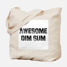 Awesome Dim Sum Tote Bag