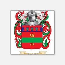 Parisi Coat of Arms (Family Crest) Sticker