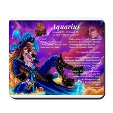 Goddess Aquarius Mousepad