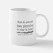 Piccolos in Tune Joke Mugs