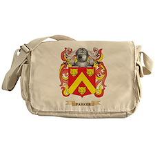 Parker Coat of Arms (Family Crest) Messenger Bag
