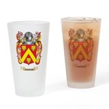 Parker coat of arms Pint Glasses