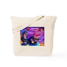 Goddess Aquarius Tote Bag