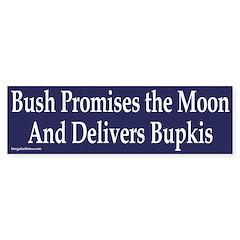 Bush promises the Moon