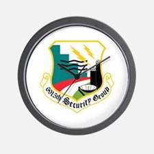 6915th Security Group Wall Clock
