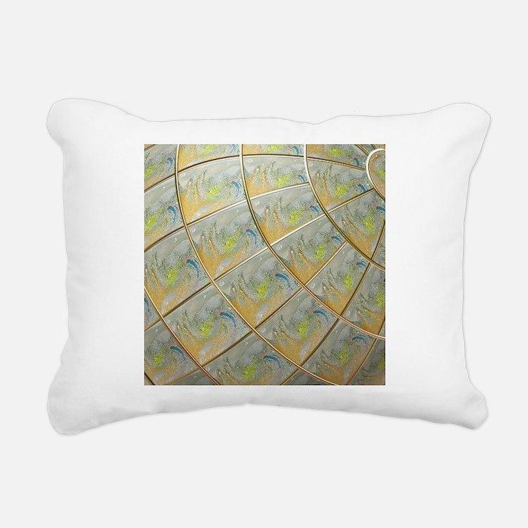 differently Rectangular Canvas Pillow
