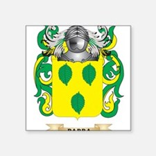 Parra Coat of Arms (Family Crest) Sticker