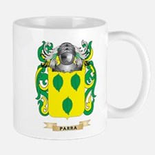 Parra Coat of Arms (Family Crest) Mugs