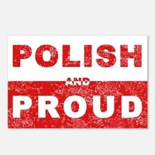 Polish & Proud Postcards (Package of 8)
