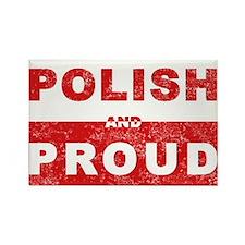Polish & Proud Rectangle Magnet