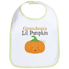 Grandmas Little Pumpkin Bib