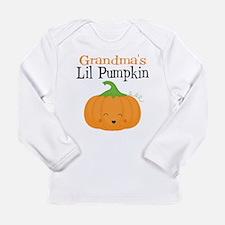 Grandmas Little Pumpkin Long Sleeve T-Shirt