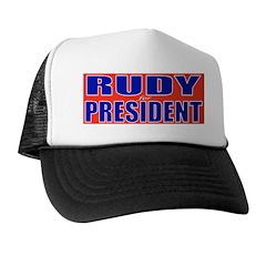Rudy for President Trucker Hat