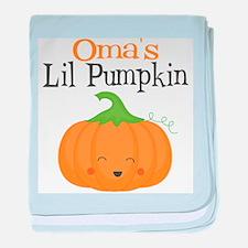 Omas Little Pumpkin baby blanket
