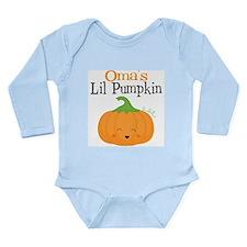 Omas Little Pumpkin Body Suit