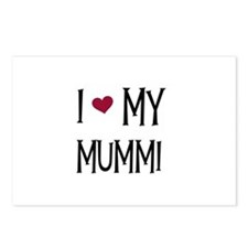 I Love My Mummi Postcards (Package of 8)