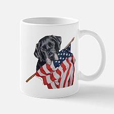 Patriotic Labrador Retriever Mug