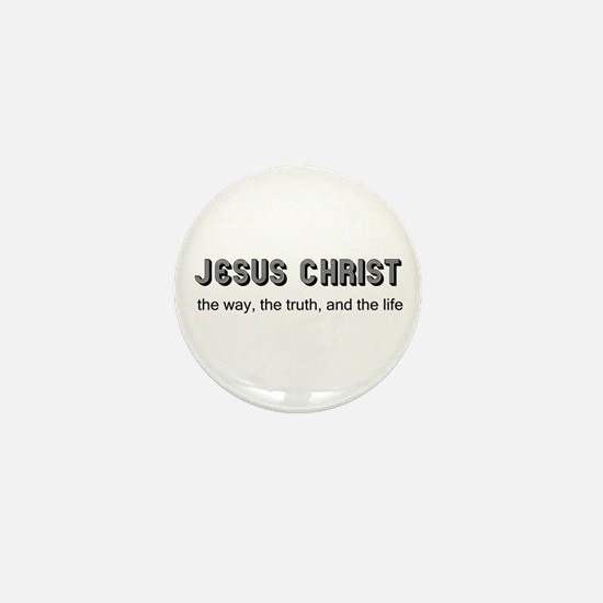 Jesus is the Way Mini Button