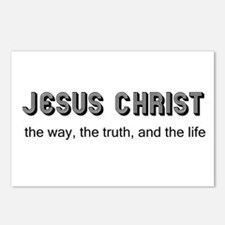Jesus is the Way Postcards (Package of 8)