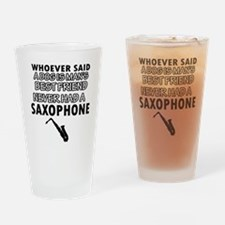 saxophone vector designs Drinking Glass