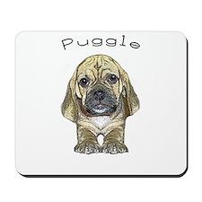 Just Puggle Art Mousepad