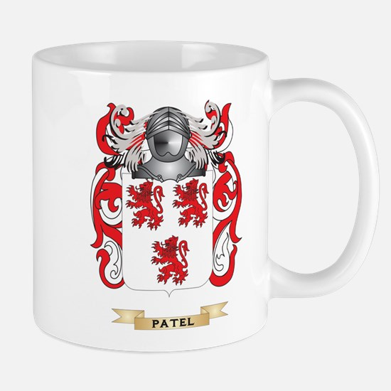 Patel Coat of Arms (Family Crest) Mugs