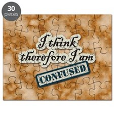 I Think Therefore I Am Confused Puzzle