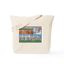 Utah Mountain Tote Bag