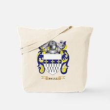 Paull Coat of Arms (Family Crest) Tote Bag