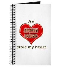 Beagle Heart Love Valentine Journal