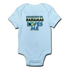 Somebody in Bahamas Loves me Infant Bodysuit